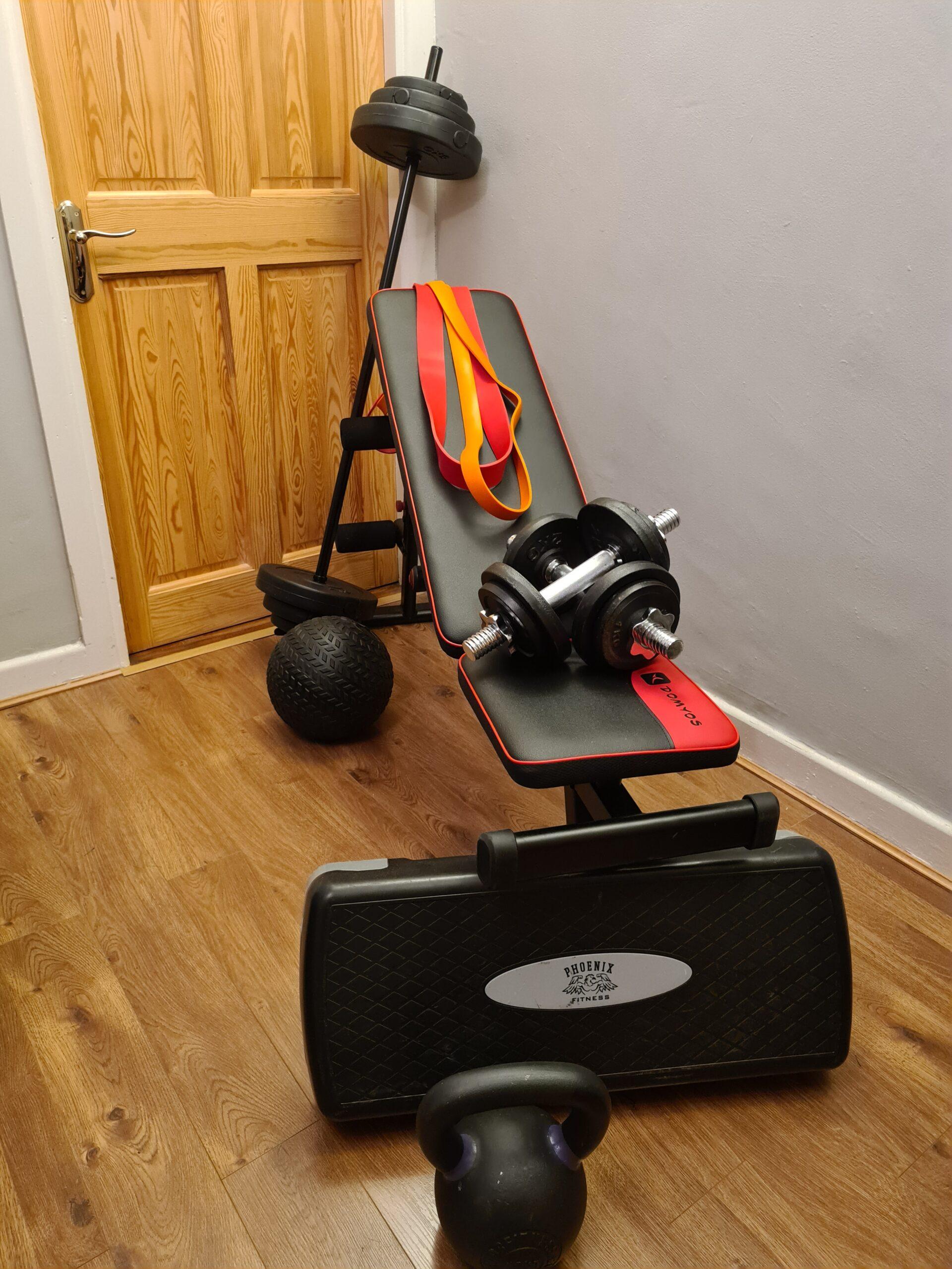 easy home gym setup