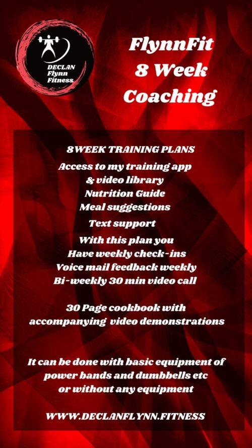 8 week fitness coaching