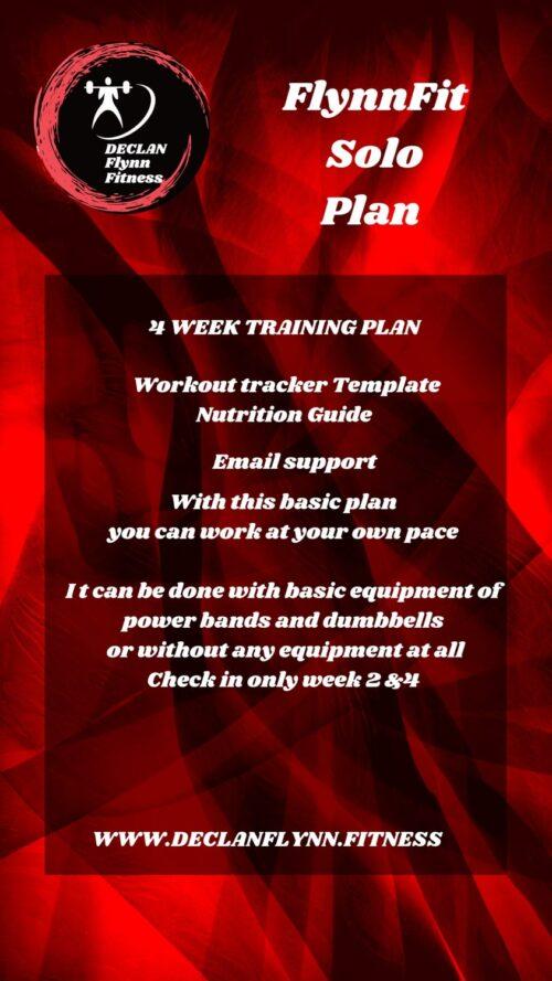 online coaching solo plan