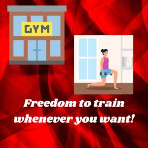 gym, online coach, online personal trainer